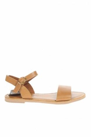 Sandále Pavement, Veľkosť 40, Farba Hnedá, Pravá koža , Cena  14,82€