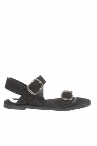Sandale Pavement, Mărime 39, Culoare Negru, Piele naturală, Preț 77,16 Lei