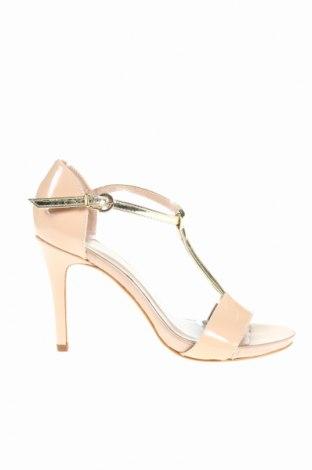 Сандали Roberto Botella, Размер 36, Цвят Розов, Естествена кожа, еко кожа, Цена 43,20лв.