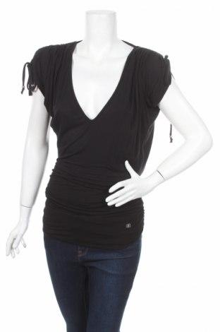 Γυναικεία μπλούζα Reporter, Μέγεθος XS, Χρώμα Μαύρο, 92% βισκόζη, 8% ελαστάνη, Τιμή 3,87€