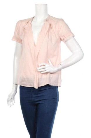 Дамска блуза By Malene Birger, Размер XS, Цвят Розов, 100% памук, Цена 64,40лв.