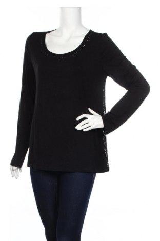 Дамска блуза Clockhouse, Размер XXL, Цвят Черен, 95% вискоза, 5% еластан, Цена 5,67лв.