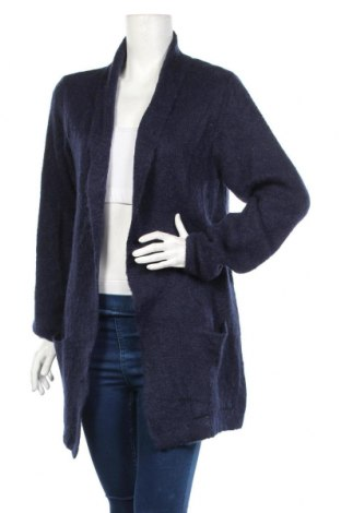 Дамска жилетка Roberto Sarto, Размер XL, Цвят Син, 40% акрил, 30% мохер, 30% полиамид, Цена 44,35лв.