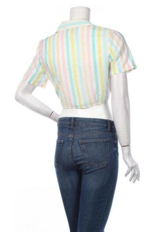 Дамска риза Clockhouse, Размер S, Цвят Многоцветен, Памук, Цена 19,08лв.