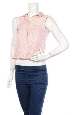 Дамска риза Clockhouse, Размер M, Цвят Розов, Памук, Цена 20,88лв.