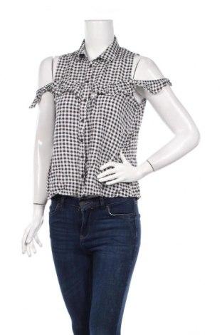 Дамска риза LCW, Размер L, Цвят Черен, Цена 7,48лв.