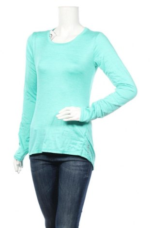 Дамска спортна блуза, Размер S, Цвят Син, 94% полиестер, 6% еластан, Цена 13,23лв.