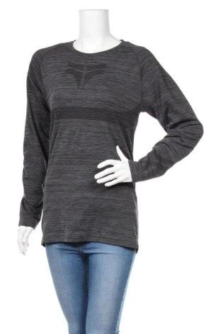 Дамска спортна блуза Crivit, Размер XL, Цвят Сив, 65% полиестер, 29% полиамид, 6% еластан, Цена 5,04лв.