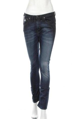 Дамски дънки G-Star Raw, Размер M, Цвят Син, 98% памук, 2% еластан, Цена 39,47лв.