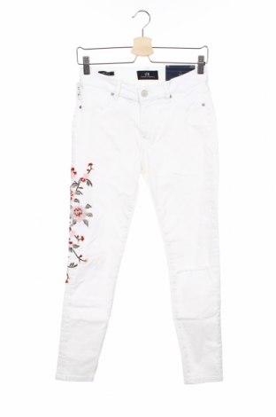 Damskie jeansy Ltb, Rozmiar M, Kolor Biały, 92% bawełna, 6% poliester, 2% elastyna, Cena 127,50zł