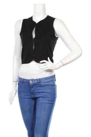 Дамски елек Wear & Flair, Размер XXS, Цвят Черен, 65% вискоза, 31% полиамид, 4% еластан, Цена 8,06лв.