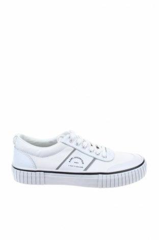 Γυναικεία παπούτσια Karl Lagerfeld, Μέγεθος 38, Χρώμα Λευκό, Κλωστοϋφαντουργικά προϊόντα, Τιμή 106,28€