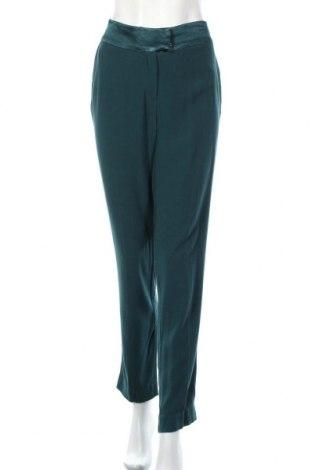 Дамски панталон Idano, Размер L, Цвят Зелен, Вискоза, Цена 13,23лв.