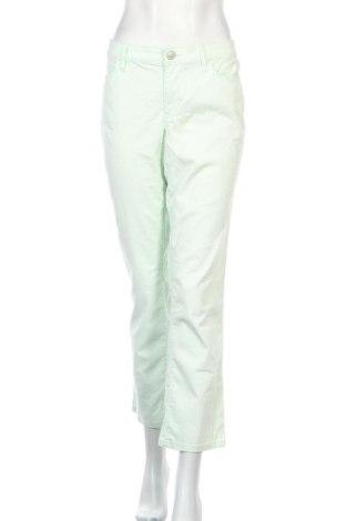 Дамски панталон Loft By Ann Taylor, Размер XL, Цвят Зелен, 97% памук, 3% еластан, Цена 23,72лв.