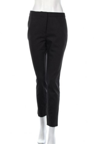 Damskie spodnie Zara, Rozmiar L, Kolor Czarny, 54% bawełna, 42% poliester, 4% elastyna, Cena 75,60zł
