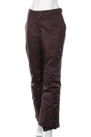 Дамски панталон за зимни спортове Alpine, Размер L, Цвят Кафяв, Полиестер, Цена 16,01лв.