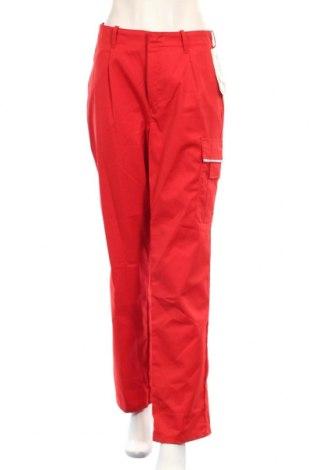 Дамски спортен панталон Bp, Размер XL, Цвят Червен, 65% полиестер, 35% памук, Цена 10,70лв.