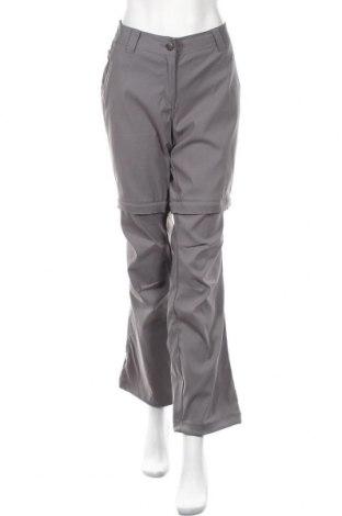 Дамски спортен панталон Crivit, Размер L, Цвят Сив, 96% полиамид, 4% еластан, Цена 5,78лв.