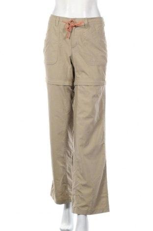 Дамски спортен панталон The North Face, Размер L, Цвят Бежов, Полиестер, Цена 11,81лв.