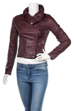 Γυναικείο δερμάτινο μπουφάν Colours Of The World, Μέγεθος XS, Χρώμα Βιολετί, Δερματίνη, Τιμή 17,11€