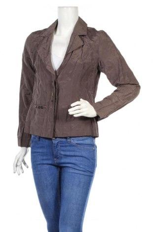 Дамско сако Micha, Размер S, Цвят Кафяв, 53% полиестер, 39% памук, 8% метални нишки, Цена 6,76лв.