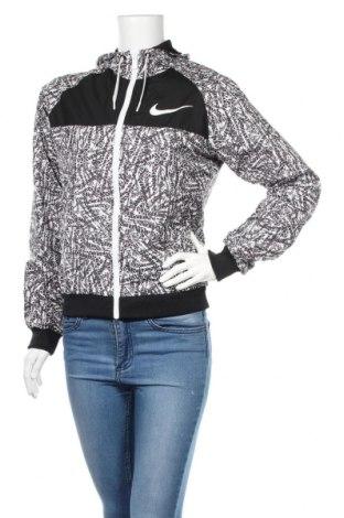 Дамско спортно яке Nike, Размер S, Цвят Черен, Полиестер, Цена 46,20лв.