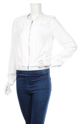 Дамско яке Armani Jeans, Размер M, Цвят Бял, Вискоза, Цена 114,00лв.