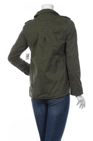 Дамско яке Gap, Размер XXS, Цвят Зелен, 97% памук, 3% еластан, Цена 35,60лв.