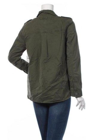 Дамско яке Gap, Размер S, Цвят Зелен, 97% памук, 3% еластан, Цена 35,60лв.