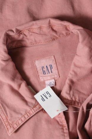 Дамско яке Gap, Размер XS, Цвят Розов, 97% памук, 3% еластан, Цена 35,60лв.