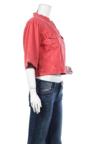 Дамско яке Gap, Размер XS, Цвят Червен, Памук, Цена 31,60лв.
