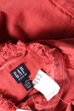 Дамско яке Gap, Размер XXS, Цвят Червен, Памук, Цена 31,60лв.