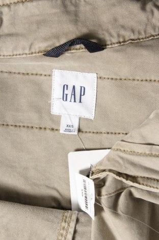 Дамско яке Gap, Размер XXS, Цвят Бежов, 97% памук, 3% еластан, Цена 35,60лв.