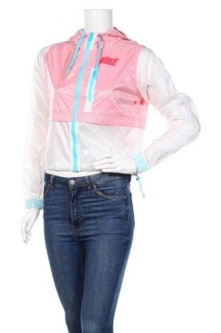 Дамско яке Nike, Размер M, Цвят Розов, Полиамид, Цена 39,69лв.