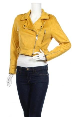 Дамско яке Tally Weijl, Размер S, Цвят Жълт, 96% полиестер, 4% еластан, Цена 46,80лв.
