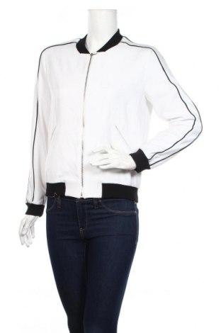 Дамско яке Zara, Размер XS, Цвят Бял, 95% полиестер, 5% еластан, Цена 27,60лв.