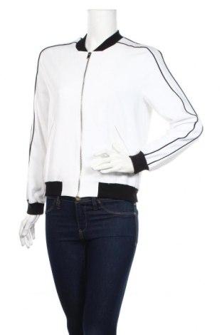 Дамско яке Zara, Размер XS, Цвят Бял, 95% полиестер, 5% еластан, Цена 32,80лв.