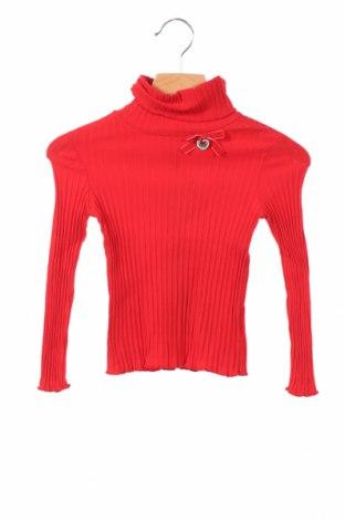 Детска блуза Artigli, Размер 2-3y/ 98-104 см, Цвят Червен, 93% памук, 7% еластан, Цена 37,17лв.