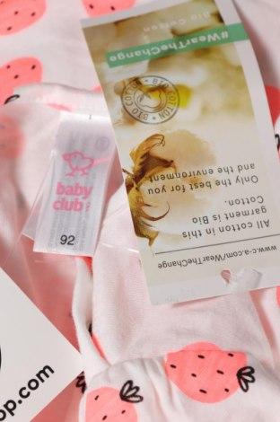 Детска блуза Baby Club, Размер 12-18m/ 80-86 см, Цвят Многоцветен, 100% памук, Цена 8,70лв.