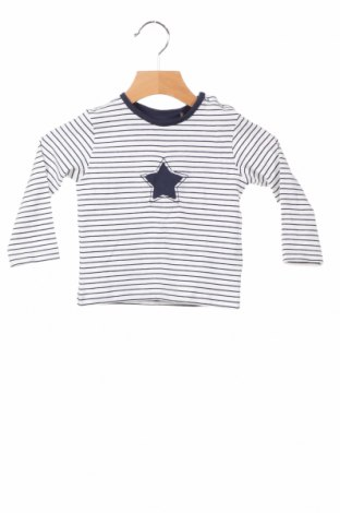 Детска блуза Belly Button, Размер 6-9m/ 68-74 см, Цвят Бял, 95% памук, 5% еластан, Цена 18,02лв.