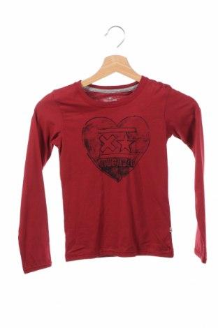 Детска блуза Blue Rebel, Размер 7-8y/ 128-134 см, Цвят Червен, Памук, Цена 8,52лв.