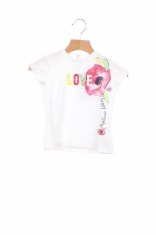 Детска блуза Chicco, Размер 12-18m/ 80-86 см, Цвят Бял, Памук, Цена 19,50лв.