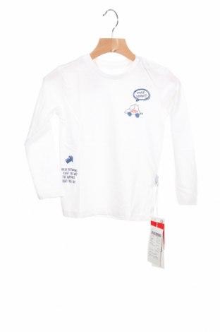 Детска блуза Fagottino By Oviesse, Размер 2-3y/ 98-104 см, Цвят Бял, Цена 17,60лв.