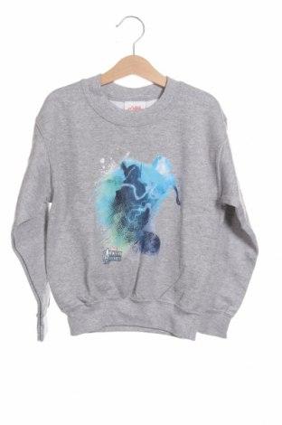 Детска блуза Gildan, Размер 4-5y/ 110-116 см, Цвят Сив, 50% памук, 50% полиестер, Цена 14,84лв.