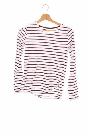 Детска блуза H&M, Размер 12-13y/ 158-164 см, Цвят Бял, 50% памук, 50% модал, Цена 5,36лв.