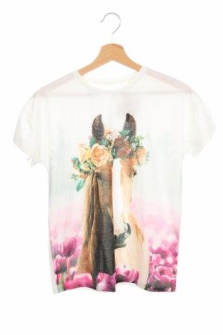Детска блуза Here+There, Размер 10-11y/ 146-152 см, Цвят Бял, 100% полиестер, Цена 13,50лв.