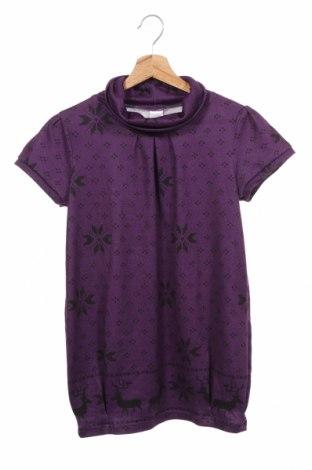 Детска блуза Here+There, Размер 12-13y/ 158-164 см, Цвят Лилав, 98% полиестер, 2% еластан, Цена 4,20лв.