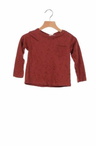 Детска блуза Lefties, Размер 12-18m/ 80-86 см, Цвят Кафяв, Памук, Цена 24,15лв.