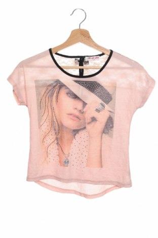 Детска блуза Magic Girl, Размер 10-11y/ 146-152 см, Цвят Розов, 65% полиестер, 35% памук, Цена 3,68лв.