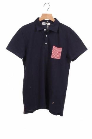 Детска блуза Manuel Ritz, Размер 9-10y/ 140-146 см, Цвят Син, 90% памук, 10% еластан, Цена 24,50лв.